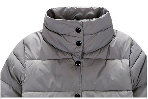 Stand Lemonkids Coat Button Collar Down Boys Jacket Infant Gray Outwear Down Chic qrgAHtncg