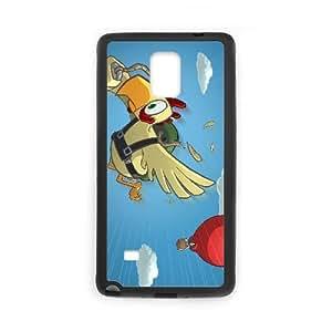 Chickens Cant Fly 9244 Funda Samsung Galaxy Note 4 Funda caja del teléfono celular Negro Q2O4TH Back Customized Case