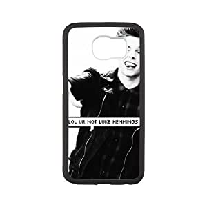 S6 Case Funny Luke Hemmings 5SOS 5 Seconds Of Summer Member SamSung Galaxy S6(Laser Technology)