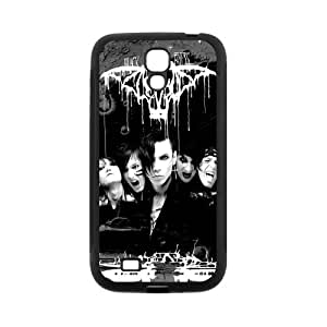 Black Veil Brides goma silicona Sugar Skull Galaxy S4 Carcasa durable Rubber Silicone material Case Cover for Samsung Galaxy S4 i9500