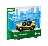 BRIO World - 33577 Car Transporter | 2 Piece Toy Train Accessory for Kids Ages 3 and Up
