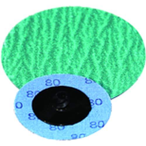 1 1/2''-120 Grit - Zirconium Plus - Turn-On Quick Change Disc (Pack of 100)