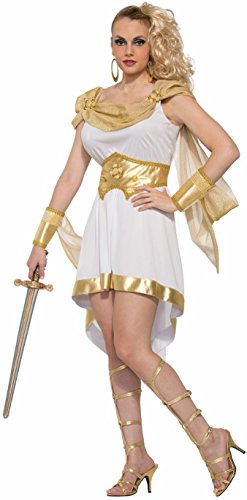 [Forum Women's Miss Mt Olympus Costume, Multi, One Size] (Athena Adult Costumes)