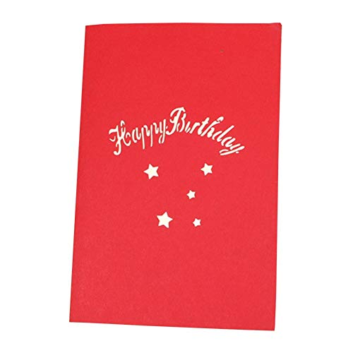 Cards & Invitations - 3d Greeting Card Valentine 39 S Day Party Cake Happy Birthday Blessing With Envelope Postcards - & Cards Invitations ()