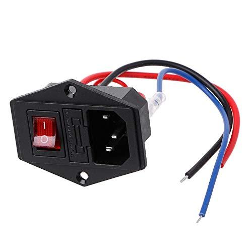 Switching Power Supply - 3d Printer U Type Plug Power Supply Switch Adapter Socket With And Fuse - Pressman S012beu0500150 S003gu0600040 05r-050 Power S006aku0500100 S005iu0600040 Transfo ()