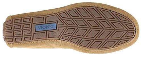 Vionic Mens Parker Ortotiske Slip On Moc Tå Loafer Sko Sand