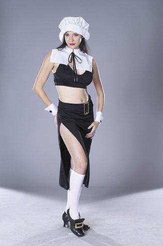 Morris Costumes Prudence Naughty Pilgrim ()