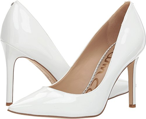 Sam Edelman Womens Pump Dress Color Nocciola Brevetto Bianco Brillante