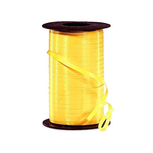 Sunshine Yellow Curling Ribbon - 3/8in. x 250 Yards
