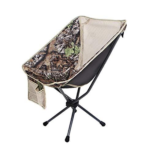 CATRP Marke Camp-Stuhl Falten Leichtgewicht Kompakt Tragbar Mondstuhl Mit Tasche Zum Angeln Picknick Strand, 4 Farben Faltet