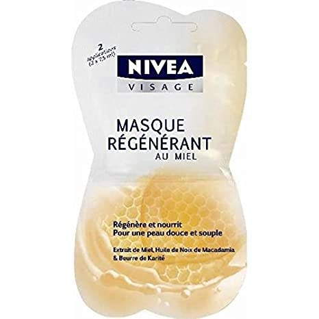 maschera x viso al miele