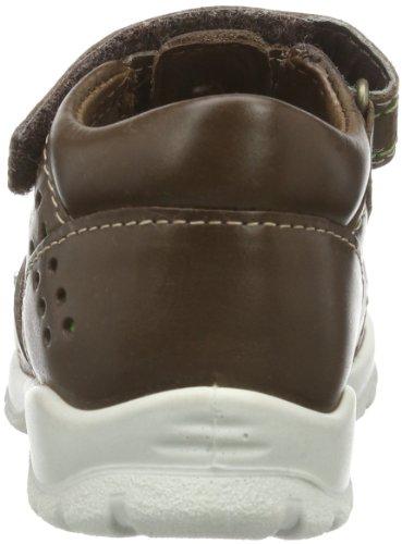 Ecco Hide & Seek Cocoa Brown/Cactus Sambal 752141 Unisex-Baby Lauflernschuhe Braun (COCOA BROWN/CACTUS 57960)