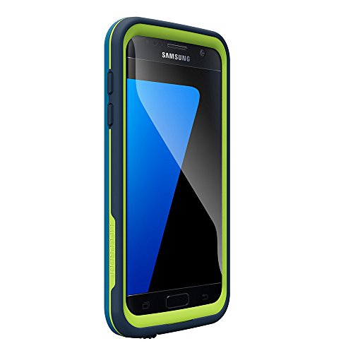 Price comparison product image LifeProof FRE SERIES Waterproof Case for Samsung Galaxy S7 - Retail Packaging - BANZAI (COWABUNGA WAVE CRASH/LIME)