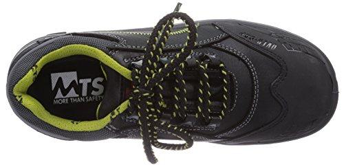 MTS Sicherheitsschuhe Ocean S3 Flex ÜK 15104, Unisex-Erwachsene Sicherheitsschuhe, Schwarz (schwarz), 38 EU
