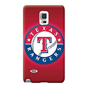 Samsung Galaxy Note 4 Hjy24754kxjs Customized Trendy Texas Rangers Pattern Protector Hard Phone Cases -ErleneRobinson