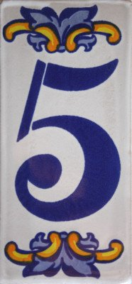 Fine Crafts Imports Villa Mexican Tile House Number Five