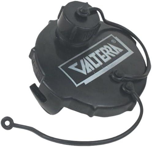 Bulk Black Valterra T1020-1 Waste Valve 3 with Capped 3//4 GHT