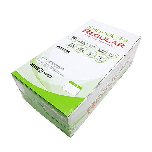 サンコーシルキーフィット レギュラー Sanko Silky Fit REGULAR/1ケース[15箱300双(1箱20双入)] (7.0号 (1/15箱)) B079MH7TX6   7.0号 (1/15箱)
