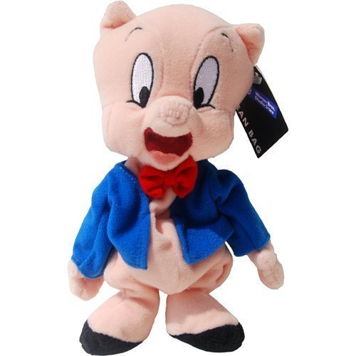 PORKY PIG - Warner Bros Bean Bag Plush by Warner Brothers