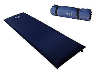 Colchoneta autohinchable 190 x 65 x 3 cm Azul Esterilla ...