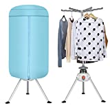 Safstar Electric Portable Ventless Air Clothes Laundry Dryer Rack Heater 900W Fast Air Drying Hot for Home Dorms