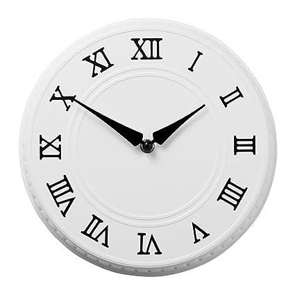 IKEA PYNTA - Reloj de pared, blanco