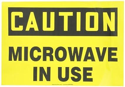 Accuform signos mrad602vs vinilo adhesivo seguridad Sign, Legend ...