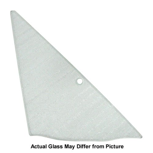 Auto Metal Direct Vent Glass - Clear - RH - 64-65 GM A-Body; 66-67 Chevelle 2/4DR Sedan (Post)