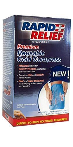 Amazon.com: Rapid Relief® Cold Compress, 8