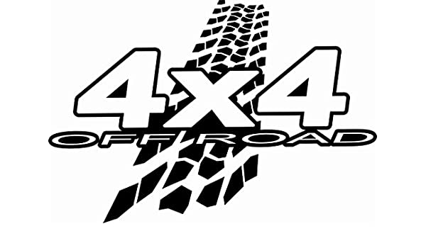 Amazon Com 4x4 Off Road Mud Tires Decal Sticker For Car Suv Truck