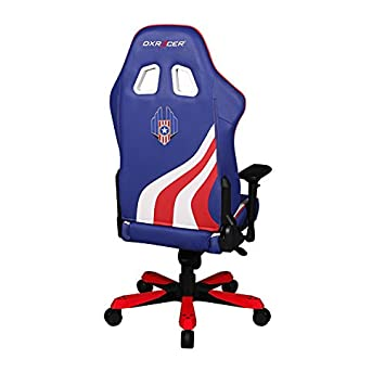 DXRacer USA Special Editions DOH KS186 IWR USA3 Racing Bucket Seat Office Chair X Large Pc Gaming Chair Computer Chair Executive Chair Ergonomic Desk Chair Automotive Rocker Pillows