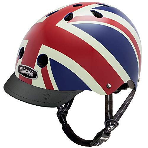Suit Street Bike (Nutcase - Street Bike Helmet, Fits Your Head, Suits Your Soul - Union Jack, Medium)