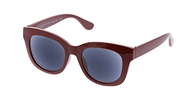 5ad2402aaf Peepers Women s Center Stage Reading Sun-Berry +1.00 Round Sunglasses 47 ...
