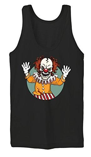 Evil Clown Tanktop Girls Noir Certified Freak