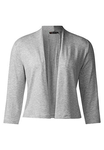 Street One - Camiseta de manga larga - Básico - Manga Larga - para mujer cyber grey melange (grau)