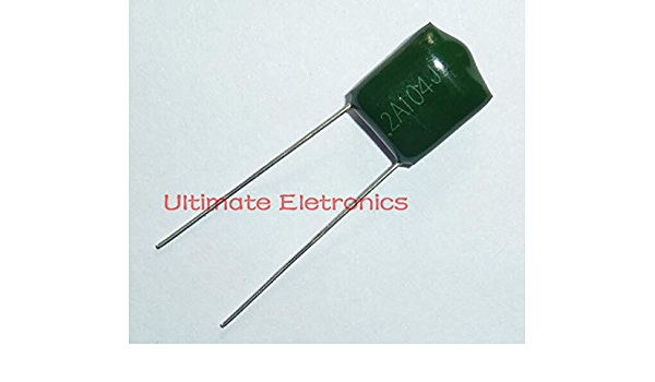 Capacitor 2A104J 100V .1UF 100nF Polyester Film  in Canada Amp Tone Guitar