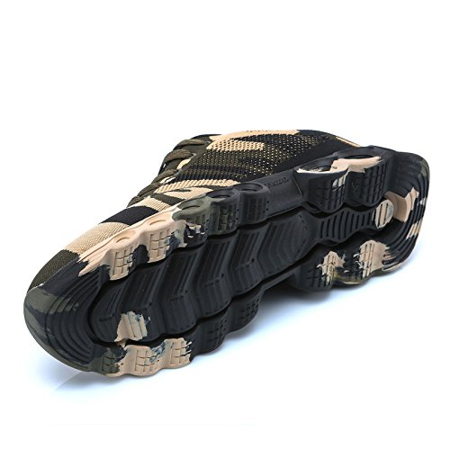 MForshop da Corsa Uomo Fitness Scarpe Running Mimetica Ginnastica Verde Militare A59 Militare Sportive xaUx0wr5
