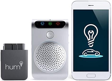 Hum X Bluetooth Verizon 4G LTE Wi-Fi Hotspot Hands-Free Calling ODB-II Diagnostic Reader