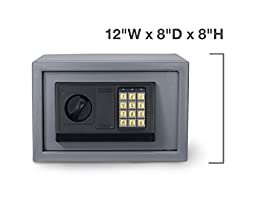 Neiko 61013 Digital Electronic Safe, 550 Cubic Inches   Keyless Entry