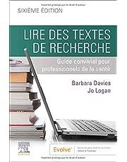 Lire des textes de recherche: Guide convivial pour professionnels de la sante