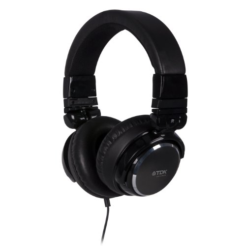 TDK Life on Record ST410 DJ Style Stereo Headphones, Black, Best Gadgets