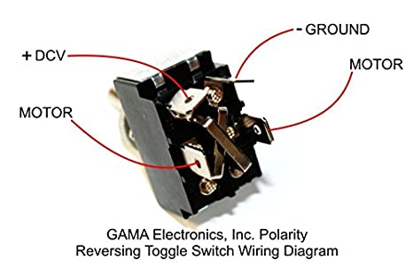 amazon com 30 amp toggle switch 3 position polarity reversing dc amazon com 30 amp toggle switch 3 position polarity reversing dc motor control momentary automotive
