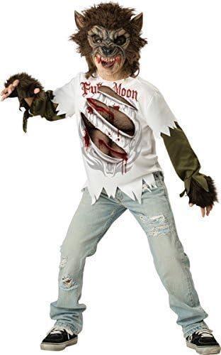 Fancy Me Más Viejo & Adolescente Niño Hombre Lobo Halloween Terror ...