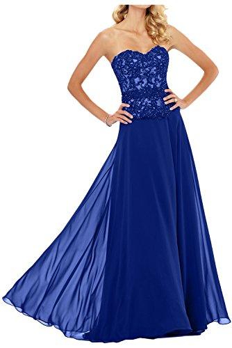 Linea Ad Vestito Topkleider Blu Royal Donna A 4ABn8q