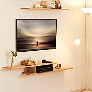 Amazon.com: Mueble de pared para televisor, estante flotante ...