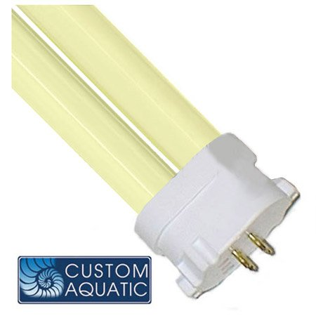 White Power Compact Bulb Square (65/55 watt 10,000k Daylight PC Bulb, Square Pin)