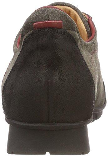 para Zapatos Menscha Cordones 21 de Kombi Gris Vulcano Derby Think Mujer 383073 qEwOOY