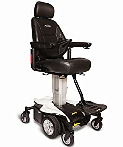"""Pride JAZZY AIR Powerchair Electric 10"""" Power Adjustable Seat Height (Pearl White)"""
