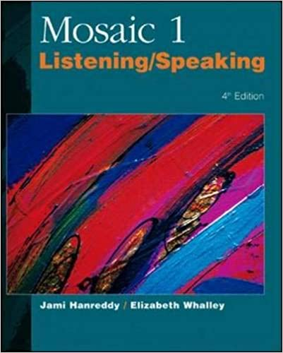 حل كتاب listening and speaking 1