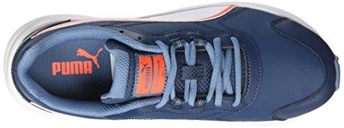 Puma - Zapatillas de gimnasia para niña Azul